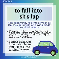 English Idioms, Fall For You, Learning English, Old Ones, Esl, Effort, How To Get, Learn English
