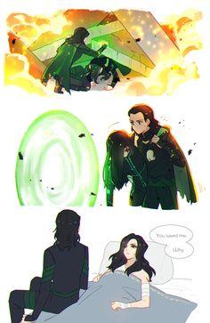 Loki Laufeyson, Loki And Sigyn, Thor X Loki, Marvel Jokes, Marvel Funny, Marvel Dc Comics, Marvel Avengers, Hela Thor, Superfamily Avengers