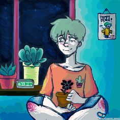 Jude by 120tea #gif #anim #animation #flipanim #flipbook #drawing #draw