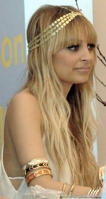 Nicole Richie - House of Harlow headband