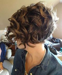 40 Best Short Curly Hairstyles for Women 2016.