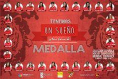 Poster Selección Española Hockey Subacuático 2016