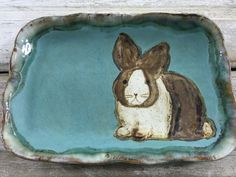 Love Etta B's pottery! And this bunny is the cutest!