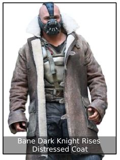 Tom Hardy Bane Coat Shearling Real Leather Style Jacket Outfit Batman: The Dark Knight Rises. Mens Leather Coats, Leather Trench Coat, Shearling Jacket, Real Leather, Leather Jackets, Brown Leather, Fur Coat, Bane Dark Knight, The Dark Knight Rises
