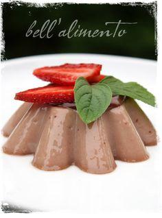Nutella Panna Cotta #Delectables. #Dessert