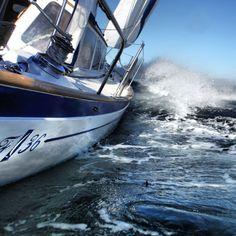 Islander Freeport on the wind!