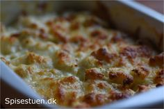 gratineret-blomkål-6 Lchf, Keto, Macaroni And Cheese, Oven, Food And Drink, Yummy Food, Ethnic Recipes, Diabetes, Kitchen Stove