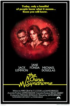 """The China Syndrome"" (1979) starring Jane Fonda, Michael Douglas & Jack Lemmon on Antenna TV -- 2/18/2013 (Mon) at 9a ET & 2/19/2013 (Tue) at 2:30a ET."