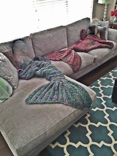 Hey, I found this really awesome Etsy listing at https://www.etsy.com/ca/listing/231004156/hand-crochet-mermaid-tail-lap-blanket