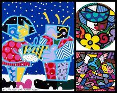 Romero Britto- Art Lesson for Kids