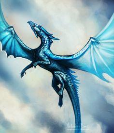 11.4. dragon (comm) by Nimphradora.deviantart.com on @DeviantArt