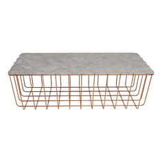 Scamp Large Carrara Marble Table by Blu Dot