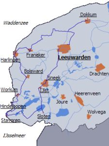 The Eleven Cities Tour is a speed skating match (with 200 contestants) and a leisure skating tour (with 16,000 skaters). It is held in the province of Friesland in the north of the Netherlands.