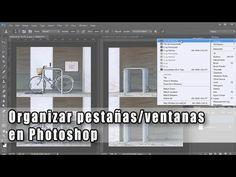 Organizar pestañas/ventanas en Photoshop