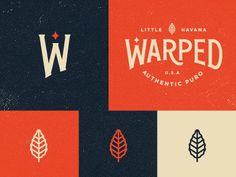 Great Work. Lockup, 'W' mark, leaf... colors. They're all working together…     Warped_preview1