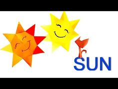 How to make a Paper Sun? Sun Origami for Kids. Crafts easy  in 8 Minutes! - YouTube