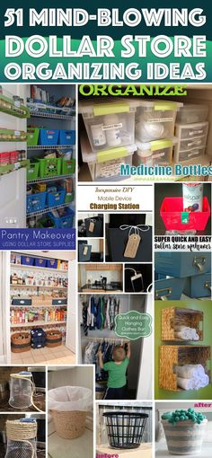 51 Mind-Blowing Dollar Store Organizing Ideas To Get Your Home A Complete Makeover – Cute DIY Projects 51 Mind-Blowing Dollar Store Organizing Ideas To Get Your Home A Complete Makeover Dollar Store Hacks, Dollar Store Crafts, Dollar Stores, Dollar Store Bins, Organisation Hacks, Kitchen Organization, Dollar Store Organization, Kitchen Storage, Pantry Storage