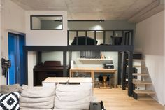 Loft House Design, Small Dorm, Dream Rooms, Teen Bedroom, Building A House, Kids Room, Things To Sell, Interior, Furniture