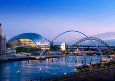 ArchitectureWeek Image - The Sage Gateshead by Norman Foster