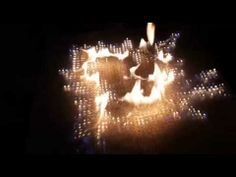 Pyro Board Flames That Respond to Sound - YouTube
