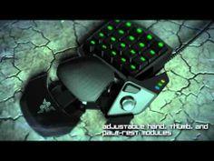 The all-new Razer Orbweaver Mechanical Gaming Keypad. One Hand. Infinite Commands.