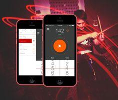 Metronom App for drummers by Jakub Ptačin