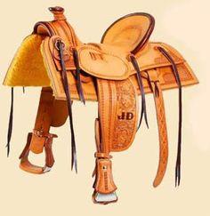 Sillas de montar occidental/colorado artículos de guarnicionería