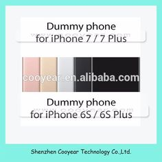 New Color Dummy for iPhone 6 6s 5 5s Non-Working Fake Metal Phone Display Model Mould Dummy for iPhone 7 7 Plus Phone Dummy Case
