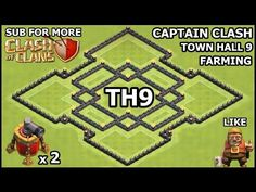 CoC TH9 WAR Base Defense ♦ Town Hall 9 WAR Base ♦ Clash of Clans Town Hall 9 Anti 3 Star Anti GOWIPE - YouTube