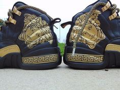 "Air Jordan 12 x Versace ""Customs"""
