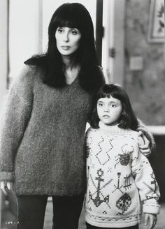 Cher and Christina Ricci in Mermaids, 1990