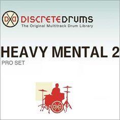 Heavy Mental Drums v2 Pro WAV REX BX8 | 2012-04-30 | D1: 2.23GB | D2: 2.19GB | D3: 2.4GB | D4: 1.06GB Picking up where Heavy Mental 1 left off, Heavy Ment