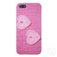 Pink crocheted iPhone Case Covers For iPhone 5
