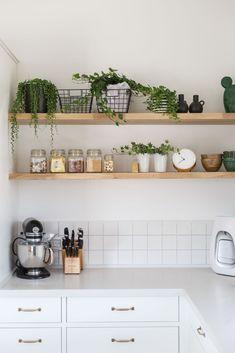 Kitchen Room Design, Home Room Design, Home Decor Kitchen, Interior Design Living Room, Home Kitchens, Knoxhult Ikea, Kitchen Trends 2018, Pantry Design, Scandinavian Kitchen