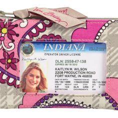 Zip ID Case   Vera Bradley