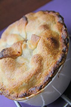 Homemade Apple & Blackberry Pie