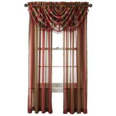 Royal Velvet® Kingston Stripe Window Treatments  found at @JCPenney