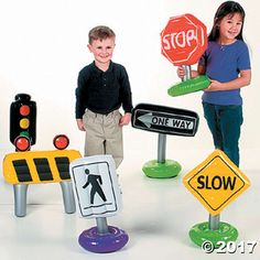 Incredible Inflatable Traffic Signs