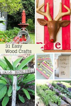 Cool Wood Projects: 31 DIY Pallet Ideas and Easy Wood Crafts