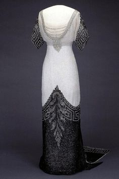 1912 - Maud's (Queen of Norway) dress - I am pretty amazed