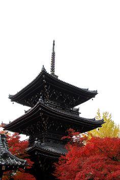 Shinsho gokurakuji temple, Kyoto, Japan