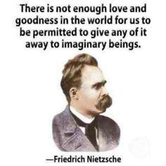 Nietzsche // good without god