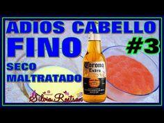 Cabello Fino Aplica Esto Y Engrosalo Y Dale Mas Volumen 100% Efectivo \\Silvia Rostran - YouTube
