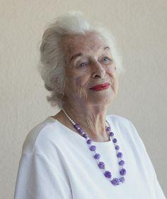 A look at Photographer Sally Peterson's Gorgeous Portraits of Centenarians: Hillevi, 100. Venice, FL.