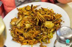Chips de alcachofa al horno - Fácil - Fırın yemekleri - Las recetas más prácticas y fáciles Veggie Recipes, Cooking Recipes, China Food, Spanish Tapas, Frittata, Green Beans, Veggies, Appetizers, Yummy Food