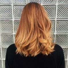 Mane Salon - Chicago, IL, United States. Strawberry blonde forever! Balayage by Lauren