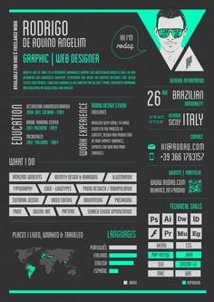 Resultado: 3º Desafio do Currículo   Choco la Design - via http://bit.ly/epinner