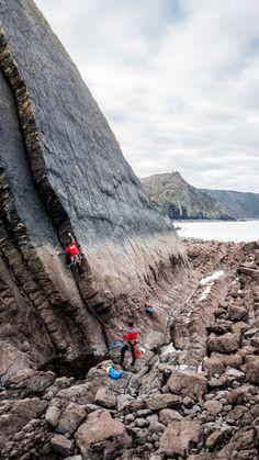 holdbreaker:Nice of HB climber Tim Howell at Blackchurch rock,...