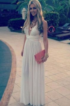 Charming Prom Dress,Sexy Prom Dress,Long Prom Dress,Chiffon Evening Dresses