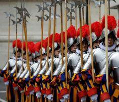 Swiss Guard's Solemn Oath.